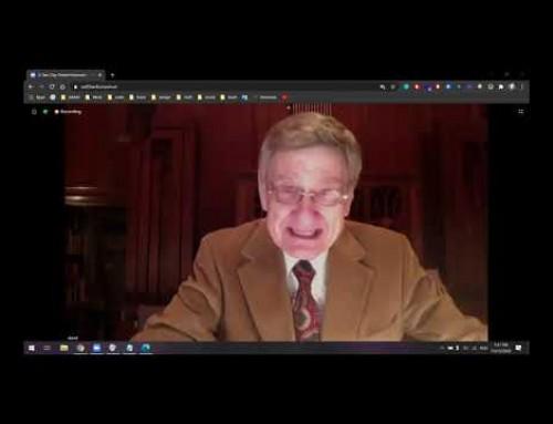Noua Creatură în Zilele din Urmă – David Doran  – Convenția India 13.11.2020