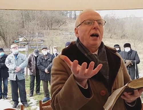 Serviciul de înmormântare al fratelui Nelu Galiș – Ruginoasa 29.01.2020