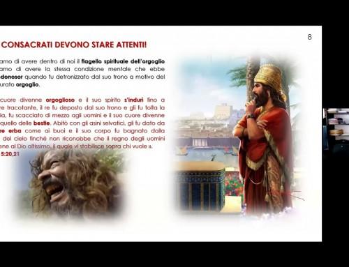 Pericolul mândriei spirituale – Vittorio Bruno – Conventia Italia 25.04.2021