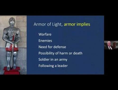 Armura luminii – John Baker